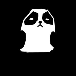 Panda Mittelfinger Geschenk Lustiges Freches