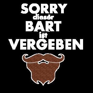 Sorry dieser Bart ist vergeben