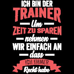 Fußball Trainer Fußballcoach