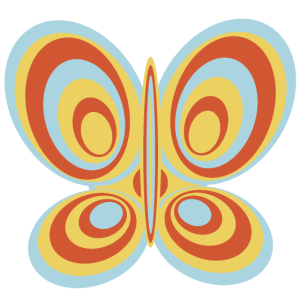 Vintage Schmetterling