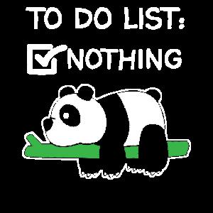 Panda Pandas Herren Geschenk