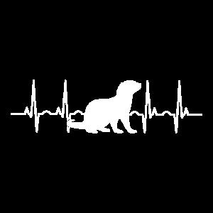 Otter Herzschlag Otter Heartbeat Otter Geschenk