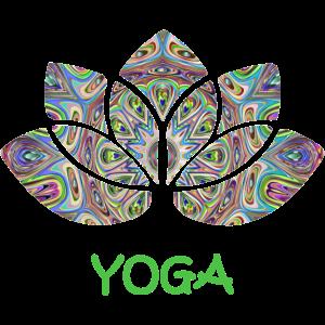 yoga mandala lotus grün