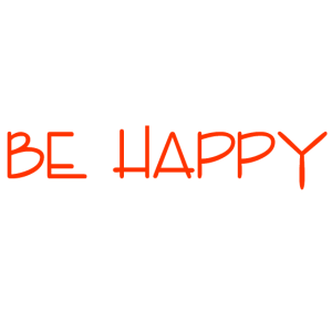 BE HAPPY by DagmarE
