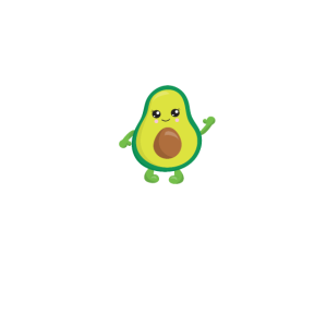 Herzschlag Avocado
