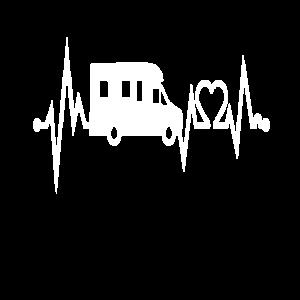 Herzschlag Wohnwagen