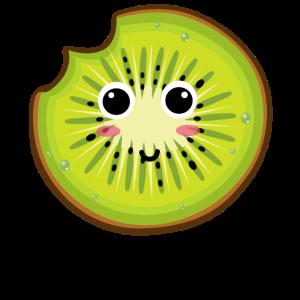 Kiwi Tshirt | Lustiges Obst mit Gesicht