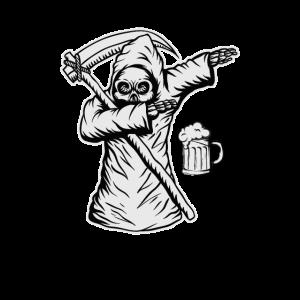 Sensemann Bier Spruch Trinken Geschenkidee