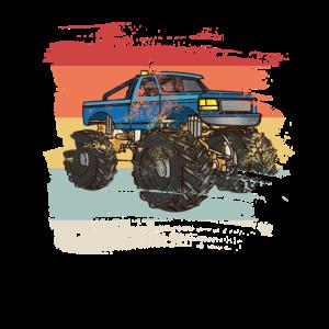 Retro Monster Truck