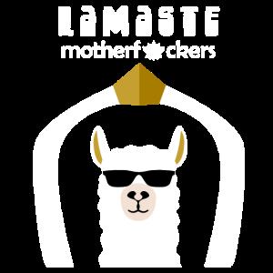 Lamaste Motherfuckers Namaste Yoga Lama Geschenk