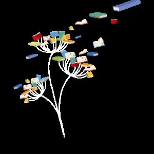 Löwenzahn Bücher Blume Blumenleser Geschenk Design