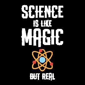 Lustige Wissenschaft ist wie Magie, aber echtes Wissenschaftsgeschenk