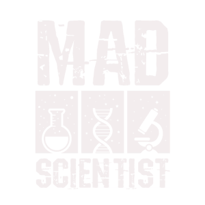 Cooles Mad Scientist Distressed Vintage Science Geschenk