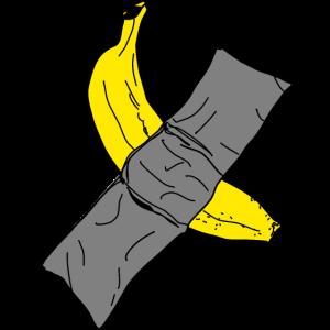 Banane Pop Art Banana Klebeband Tape Obst