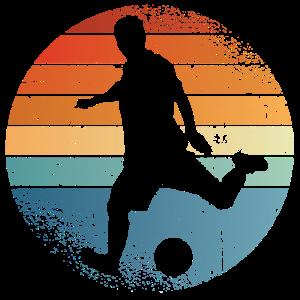 Fussball Retro Geschenk