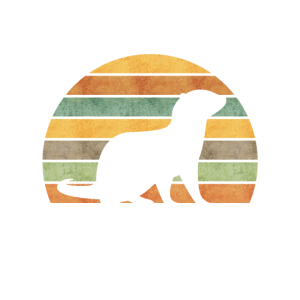 Otters make me Happy You not so much Retro