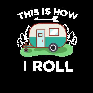 Lustiges Camper Geschenk für Wohnwagen Urlauber