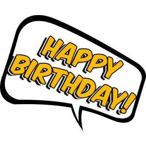 Geburtstag Happy Birthday Geschenk Ehrentag Comic