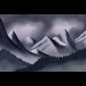Graue Berge