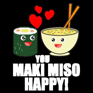 You Maki Miso Happy- Sushi & Ramen Geschenke