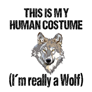 this is my human costume im realy a wolf