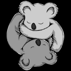 Koala Bär Yin Yang