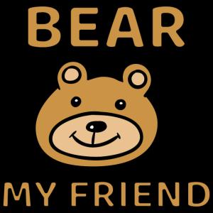 Freundschaft bear my friend