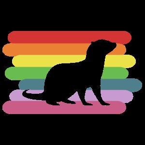 Otter Peace Otter Geschenk für Otter Fans