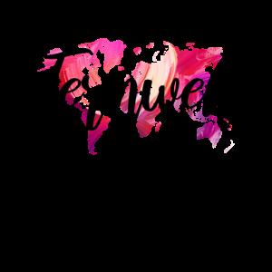 Weltreise Reisen Fernweh Geschenk