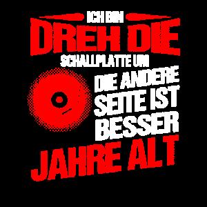 Vinyl Schallplatte Geschenk I Plattensammler