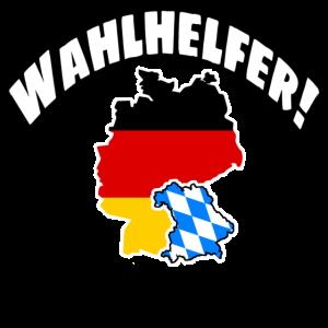 Wahlhelfer! Bayern 2020 Wahlen