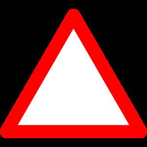 Vorsicht Schild Verkehrsschild + DEIN TEXT