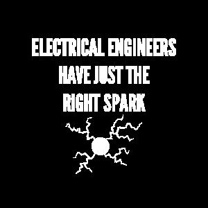 Elektrotechniker haben genau den richtigen Funken