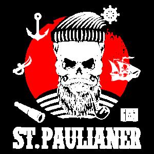 St. Pauli Hamburg Totenkopf Paulianer Sankt Pauli