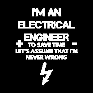 Ich bin ein Elektroingenieur