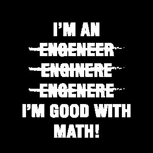 Ich bin gut in Mathe