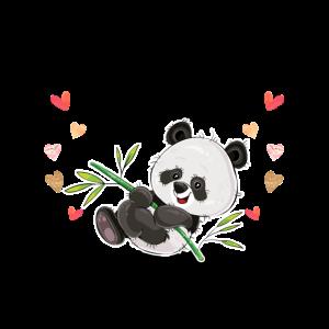 Mit einem Panda ist das Leben besser