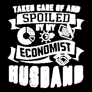 Wirtschaftswissenschaftler von meinem Ehemann als Wirtschaftswissenschaftler verwöhnt