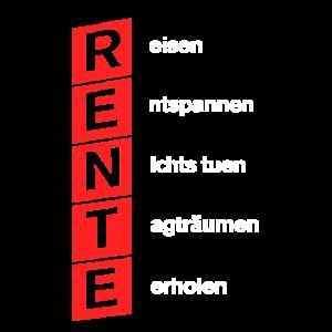 Lustiges Rentner Wohnwagen Camping Rente Urlaub T