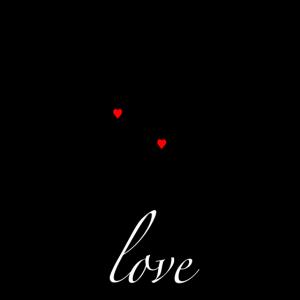 Romantisches Liebespaar Silhouette. Paar Geschenk