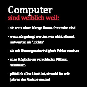 Computer sind wie Frauen