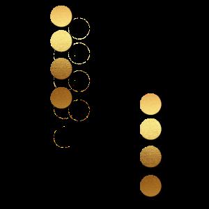 Goldene Knöpfe