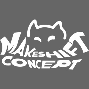 Makeshift Concept Cat Logo Weiß