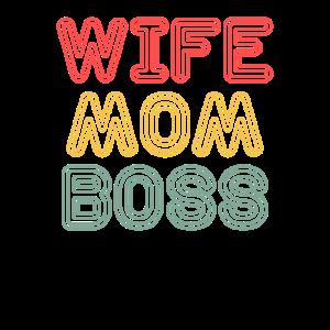 Wife Mom Boss - International Women's Day