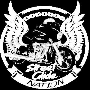 Cooles Streetglide Shirt Sreetglide nation