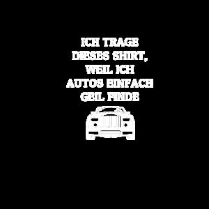 Autos sind geil