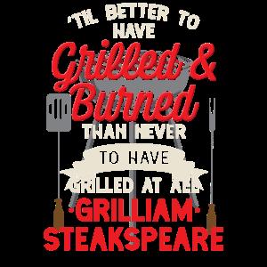 Witziges Grillen BBQ Griller Shirt