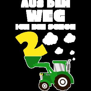 2 Jahre Geburtstag Traktor Ich Bin Schon 2 Trecker