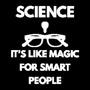 Wissenschaft ist eine Magie für kluge Leute