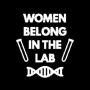 Frauen gehören ins Labor